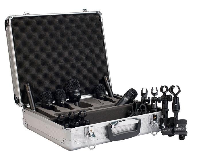 Kit Bateria Audix Pack De Microfonos Fp7