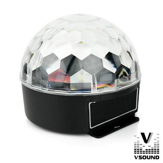 Projetor Luz C/ 3 LEDS 3W RGB VSOUND VSPROJVS26B