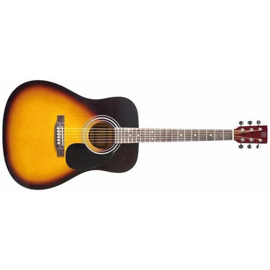 Oqan Guitarra Acustica Qga-31 Sb Sunburst