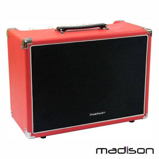 "Coluna Amplificada P/Guitarra 8"" 60w MadisonMADISON-GA60-RED"