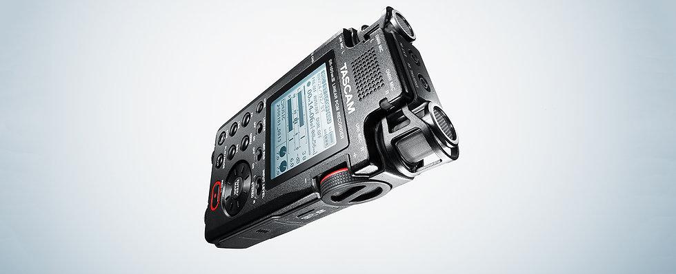 Gravação Para Camara Tascam Dr-100Mk3