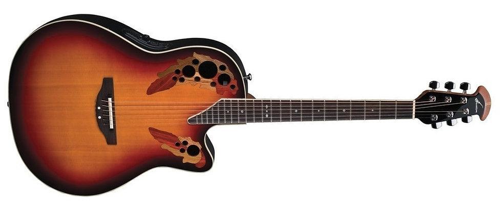 Guitarra Electro-Acústica Standard Elite Deep Contour Cutaway  Ovation