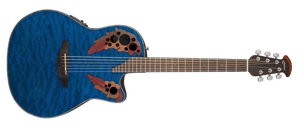 Guitarra Electro-Acústica Celebrity Elite Plus Mid Cutaway  Ovation