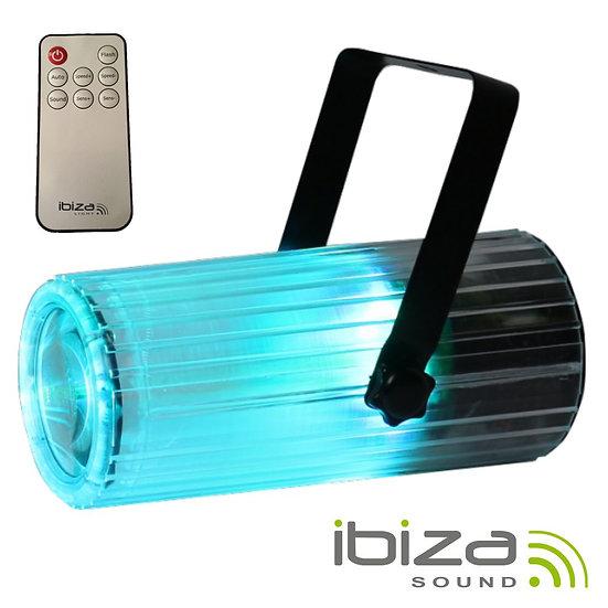 Projetor Luz Efeito Moonflower RGBWA LED IBIZA LCM003LED-CLEARBAT