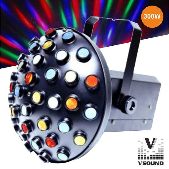 Projetor Luz Colorido 300W VSOUND VLF45