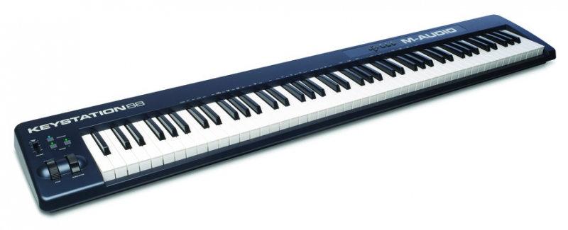 Teclado Controlador M-Audio - Keystation88Mkii