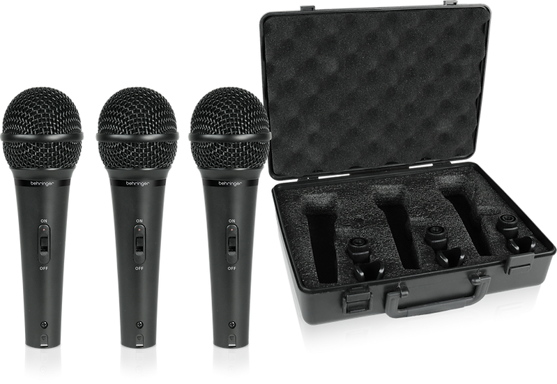 Kit De Microfones Behringer Xm1800S