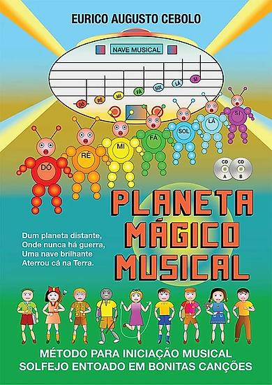 Planeta Mágico Musical 1 E 2 C'Cd