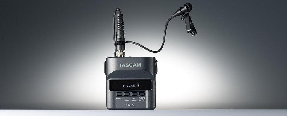 Gravação Para Camara Tascam Dr-10L