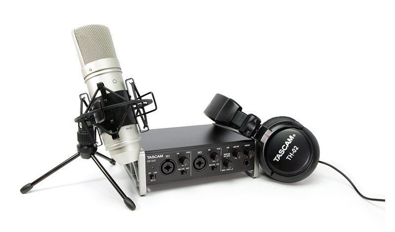 Interface Audio Tascam Trackpack 2X2