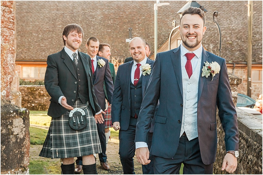 Winter Wedding Photography at Eastwell Manor, Kent