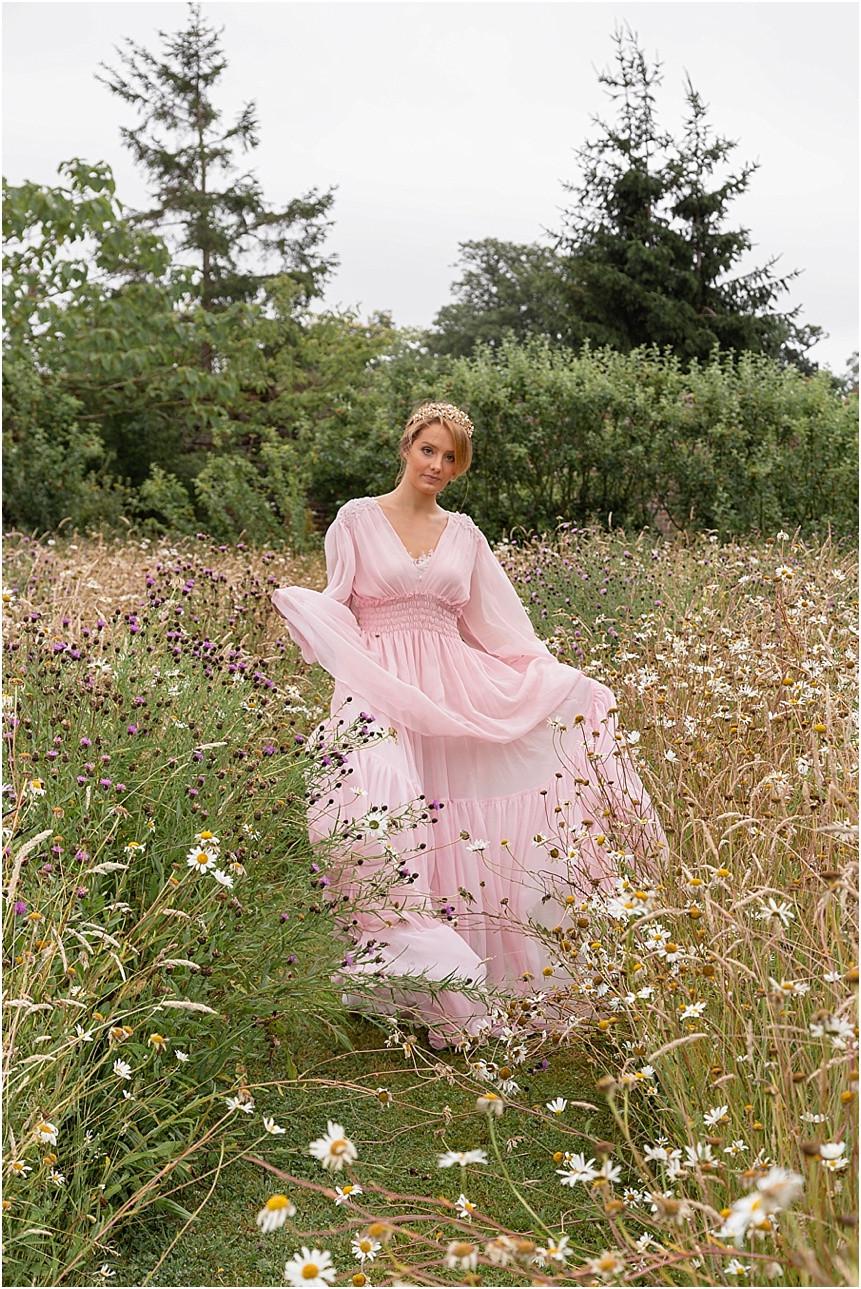 French Elegance Styled Shoot at Secret Garden, Kent