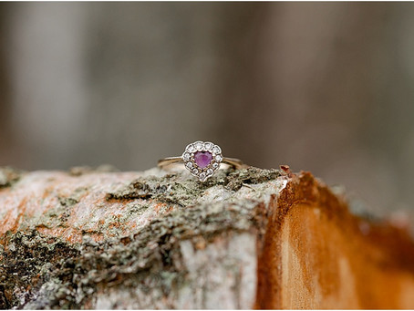 Woodland Engagement Photo Shoot in Ashford, Kent