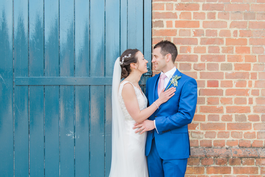 Lockie & Laura's Wedding at The Barn at Bury Court, Bentley