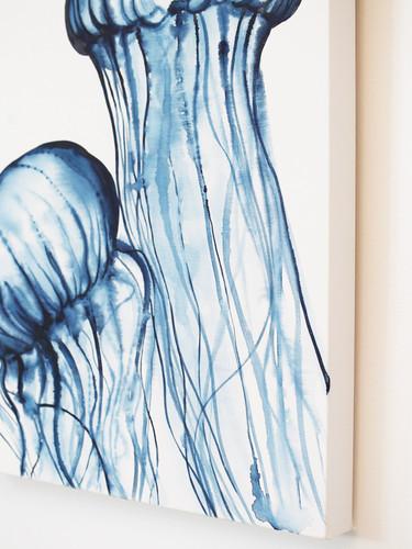 'Dancing Jellies' Original Watercolor