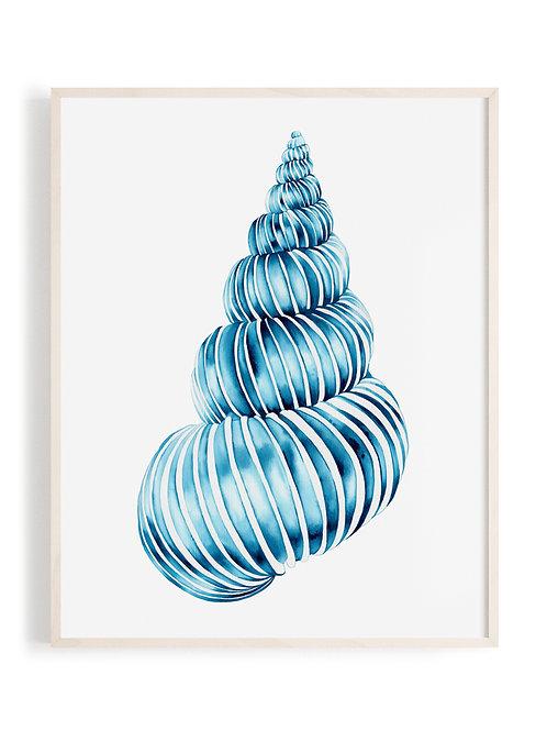 'Ocean Swirl' Art Print