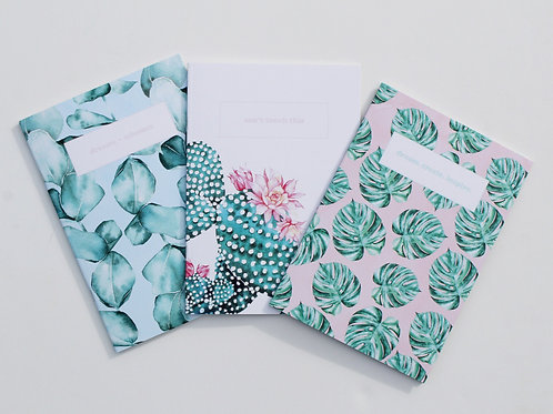Botanical Notebook Set