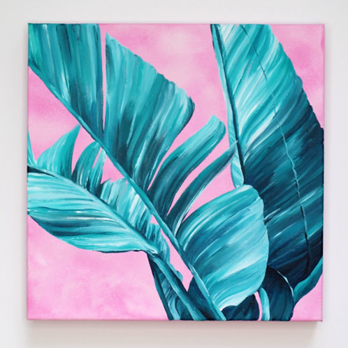 'MIAMI GREENS' ORIGINAL PAINTING