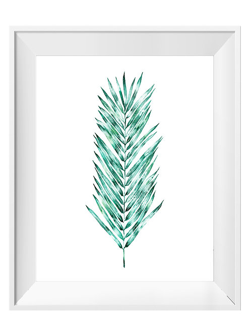 Frond Watercolor Art Print