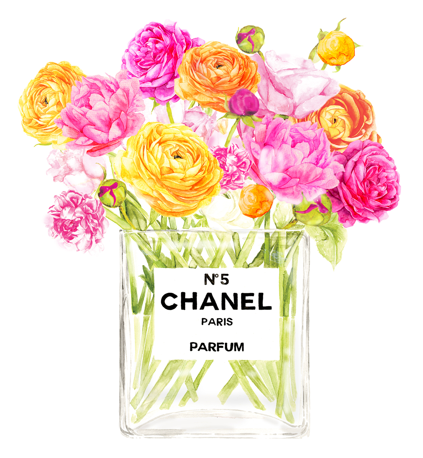 Chanel 'Spring Blooms' No.5