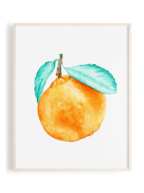 'Freshly Squeezed' Art Print