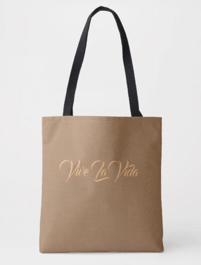 Live Life Tote Bag