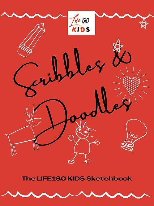 SCRIBBLES AND DOODLES SKETCHBOOK