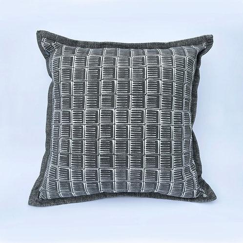 Grey Inky Cushion