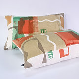 Abstract Oblong Cushion