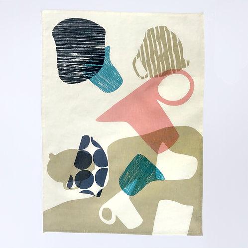 Vessels Tea Towel