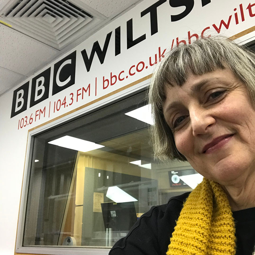 BBC Wiltshire radio interview with Sue Kinnear and Tim Weeks
