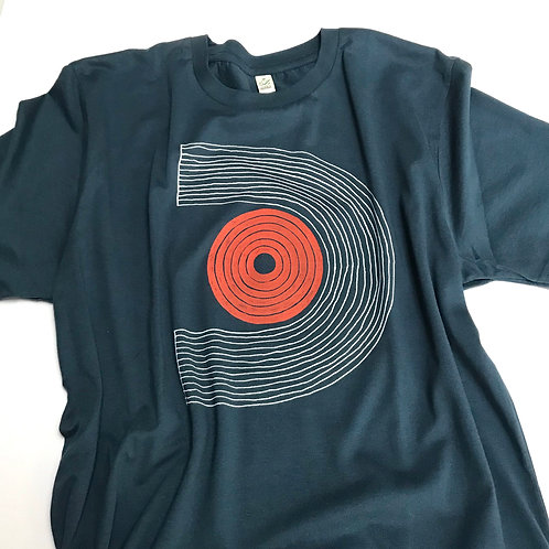 Hand Screen Printed T-shirt design 'U.Dot'