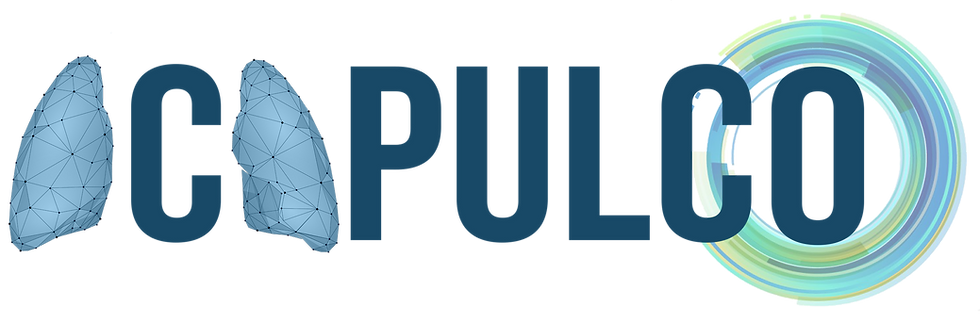 """Logo du projet ACAPULCO. Projet d'""""tude sur le dépistage du poumon en Corse"""