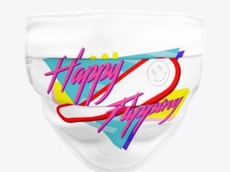 Happy Flipping Mask