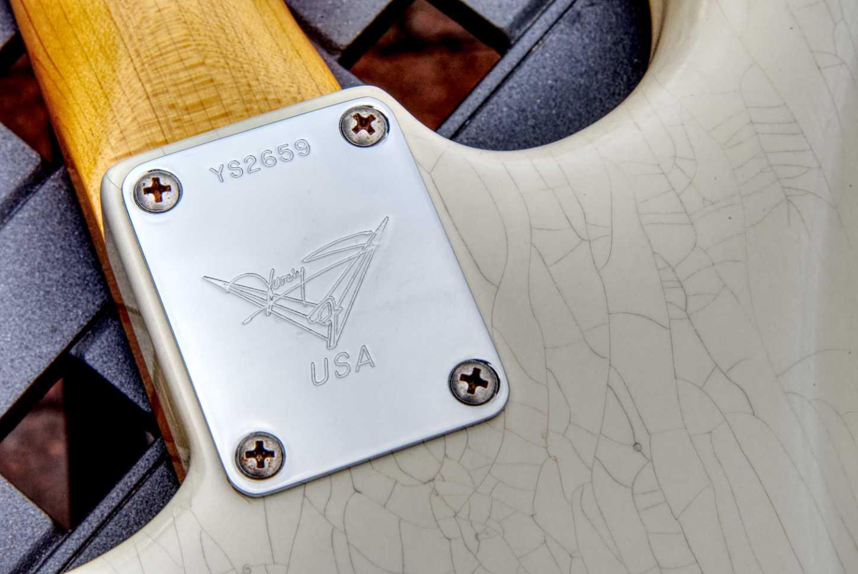 Yuriy Shishkov '63 Journeyman Stratocaster neck plate