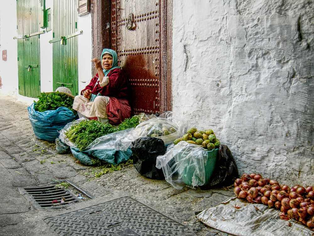 Street vendor - Morocco