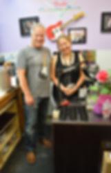 Josefina Campos Pickup Designer at the Fender Custom Shop in Corona California with Gary Davies