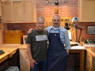 Gary Davies and Fender Principal Master Builder Yuriy Shishkov