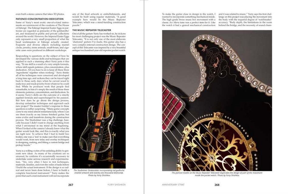 Random Pages from my ANNIVERSARY STRAT book