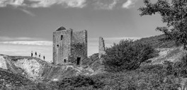 Great visit to Caradon Hill on 7 August 2020 when I spotted this ruined Engine House in the distance.