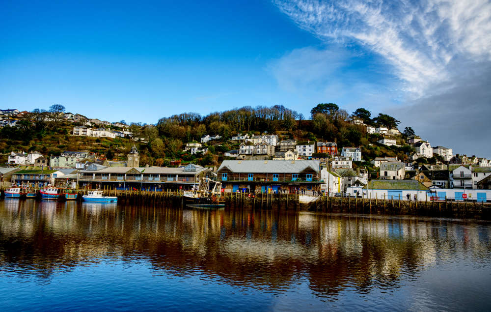 East Looe in the winter sunshine