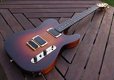 For sale Unique well-built high spec and versatile Custom Shop TEV Tele-style guitar expertly hand-crafted by respected luthier Tom Anfield