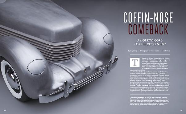 J.Ukrop Joey Ukrop Rodder's Journal 1937 Cord Coffin Nose Car