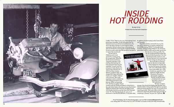 J.Ukrop Joey Ukrop Rodder's Journal Rodders Journal Inside Hot Rodding Book Review