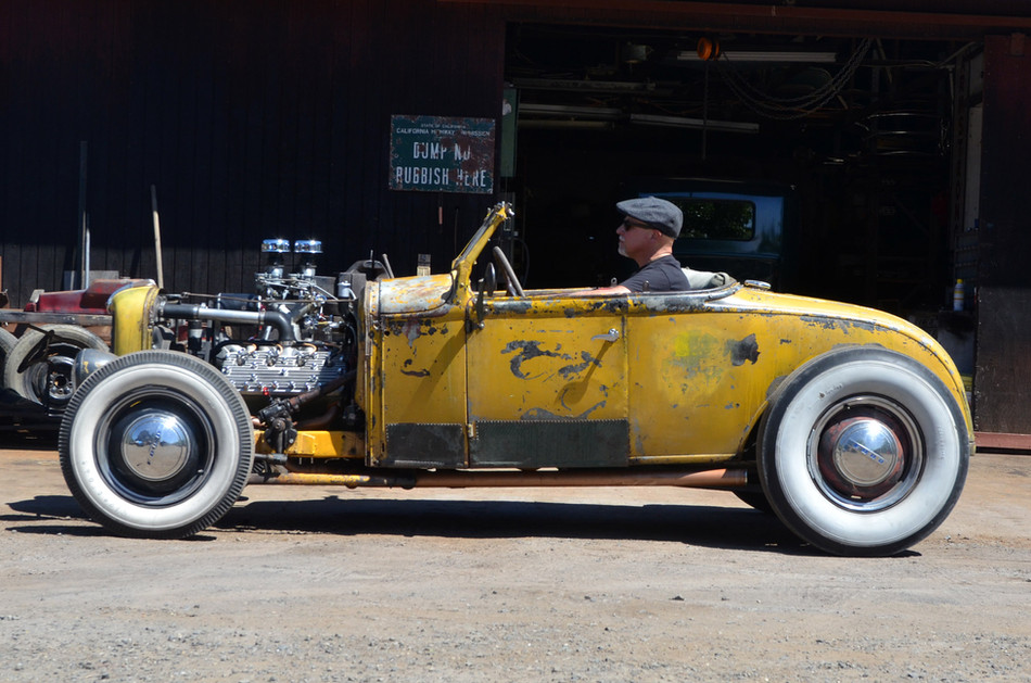 A Fly in Amber: The di Falco Roadster