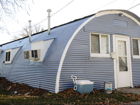World War II-era Quonset Huts Provide Cramped but Affordable Housing