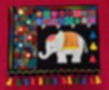 Little Elephant cross stitch - Using Up the Stash