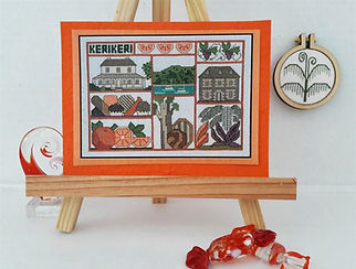 Kerikeri cross stitch pattern