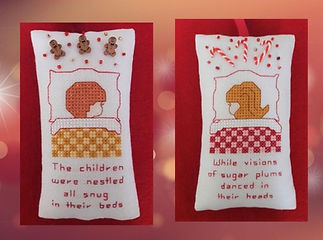 Twas the Night Before Christmas cross stitch pattern