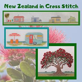 New Zealand Summer cross stitch patetrn